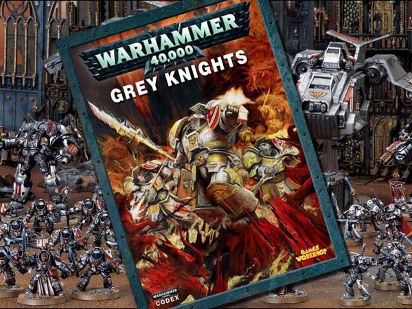 Grey Knight Codex Winner Announced!