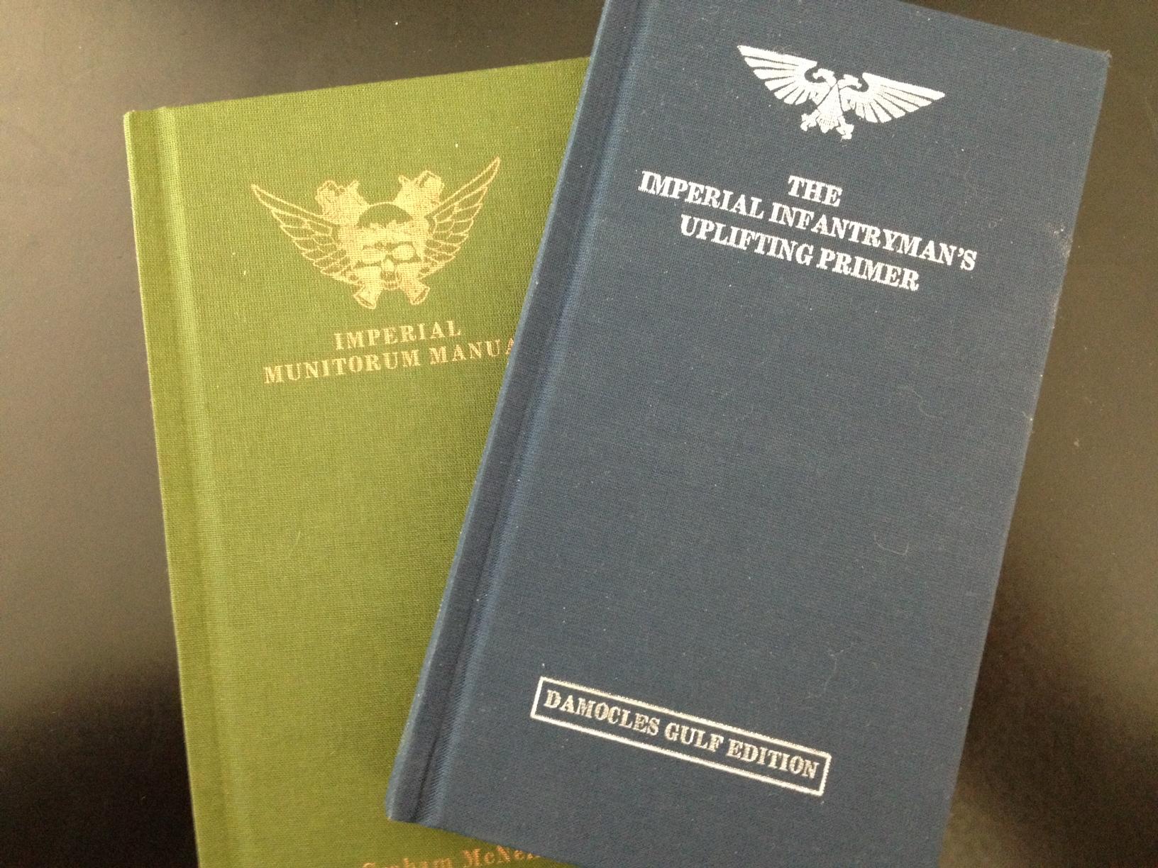 Forbidden Lore – The Imperial Infantryman's Handbook