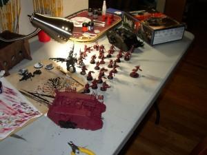 Khorne Build Hobby Progress